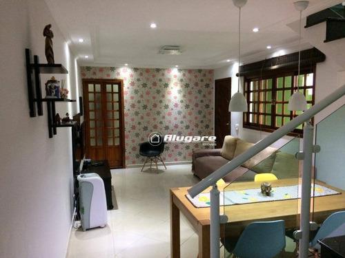 Sobrado Com 3 Dormitórios À Venda, 118 M² Por R$ 568.900,00 - Jardim Paraventi - Guarulhos/sp - So0640