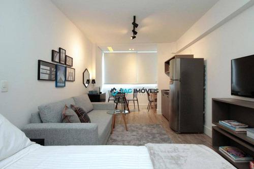 Studio Com 1 Dormitório À Venda, 29 M² Por R$ 636.000,00 - Vila Olímpia - São Paulo/sp - St0021