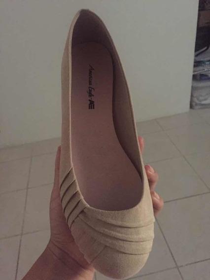 Zapatos De Mujer Tipo Muñeca American Eagle Nuevos