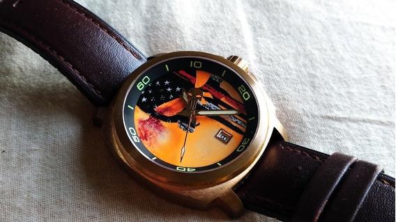 Relógio Cobra Exclusivo, Único No Mundo . Em Bronze . Troco