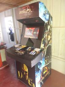 Fliperama Arcade Multijogospersonalizado Mais De 6 Mil Jogos