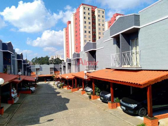 Sobrado Em Condomínio Fechado 2 Dorms Em Itaquera - V7911