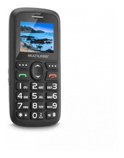 Celular Vita Dual Chip Tela 1,8 Usb E Bluetooth Multilaser