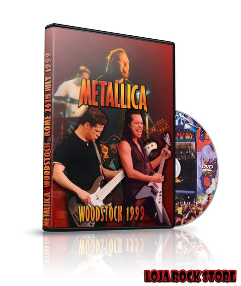 Dvd - Metallica Live At The Woodstock Festival 1999