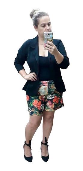 Blazer Feminino Neopreme Plusize