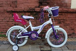 Bicicleta Raleigh Lil Honey Niña Nena Rodado 16 Planet Cycle