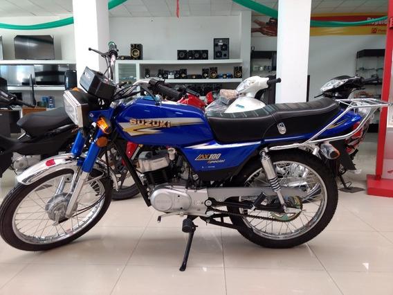 Suzuki Ax 100 Aboná Por Transferencia Bancaria