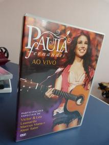 Dvd Original Paula Fernandes Ao Vivo Promoção Envio Já Veja