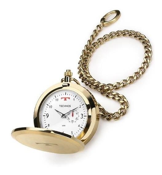 Relógio De Bolso Technos Ref: 1l45bb/4b Dourado