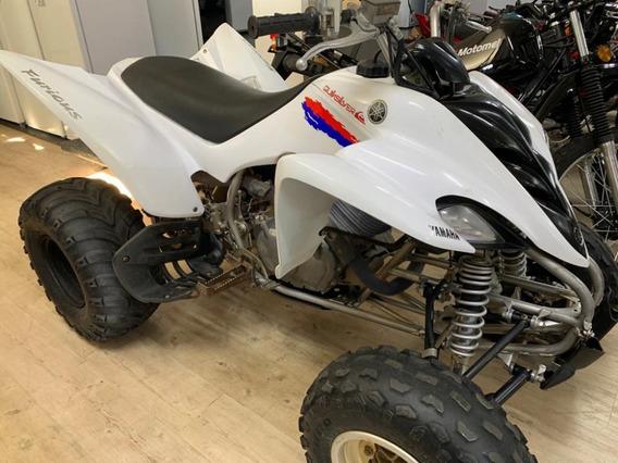 Cuatriciclo Yamaha Ymf 350 Raptor Blanco Muy Cuidado