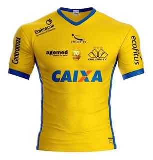 Camisa Criciúma Comemorativa Embratex 70 Anos Masc Original