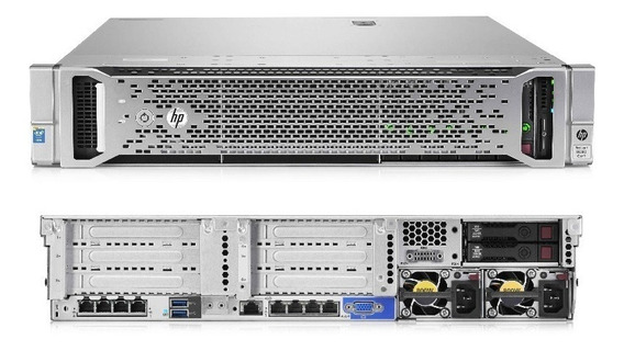 Servidor Hp Dl 380 G9 2x Xeon E5-2630 V3 32core,64gb Ddr4