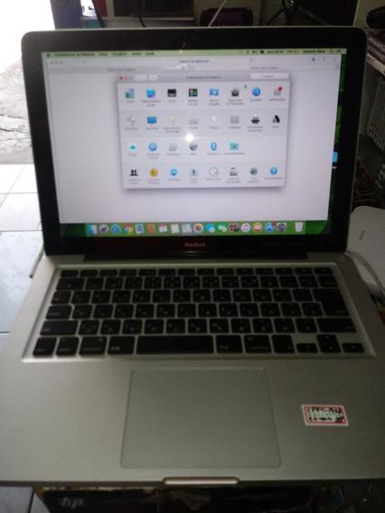 Macbook Apple Aluminium Late 2008 Com 4gb Com Carregador....
