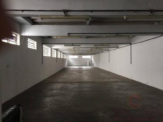 Galpão Para Locação Em São Paulo, Ipiranga, 2 Banheiros - Gamc0163