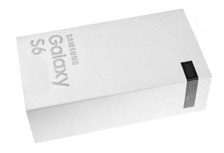 Caja Vacia Samsung S6 32gb Color Negro En Portugues