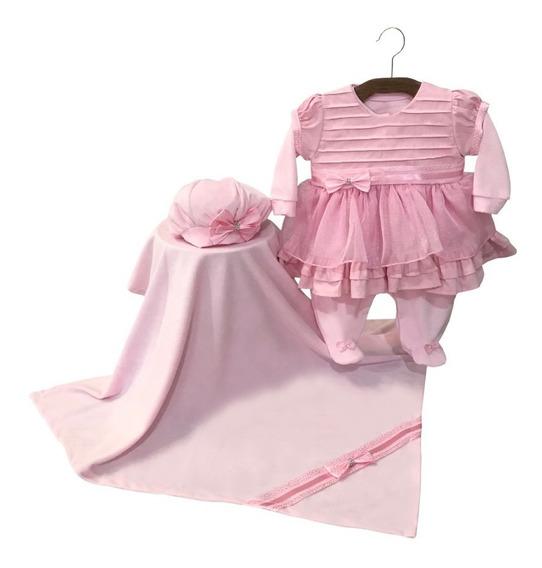 Kit Saída Maternidade Laura Rosa