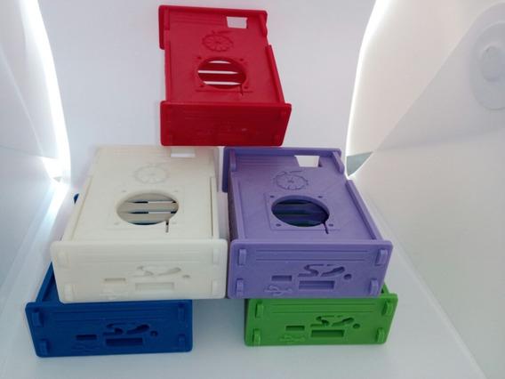 Case Orange Pi Pc - Pc Plus + Cooler + Dissipadores