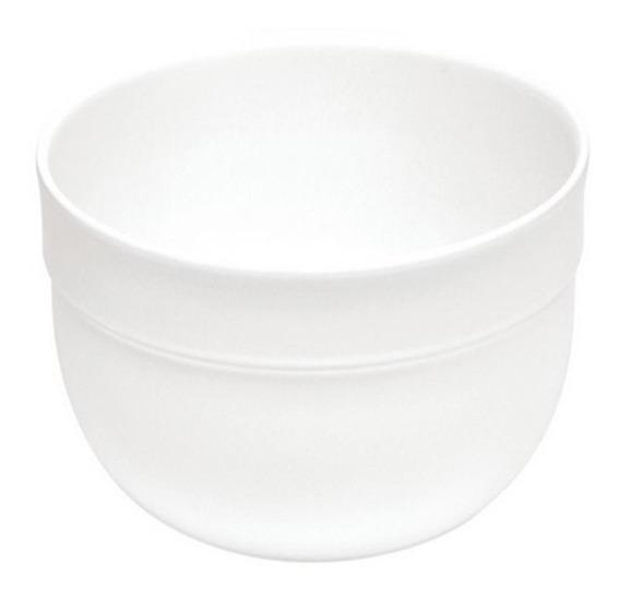 Ensaladera Color Blanco De 17.5 Cm