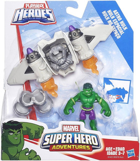 Playskool Heroes Hulk Espacial Marvel Hasbro Nuevo Bigshop