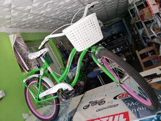 Bicicleta De Niña, Completamente Nueva.