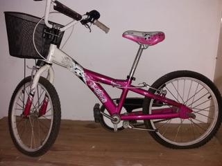 Bicicleta De Nena Usada Rod. 20.
