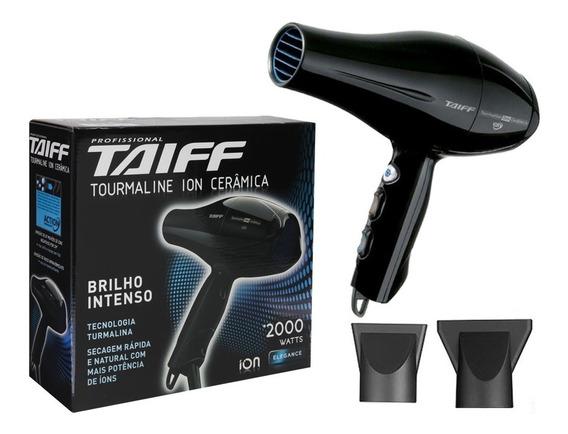 Secador De Cabelo Profissional Tourmaline Ion 2000w Taiff