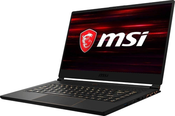 Notebook Msi Gs65 Stealth-006 15.6- I7-16gb-rtx2060-ssd 512