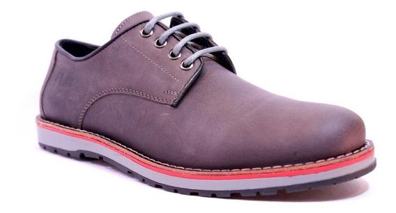 Zapatos Pataugas Loick Urbanos De Cuero Engrasado