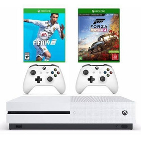Console Xbox One S 1tb -2 Controles+ 2 Jogos