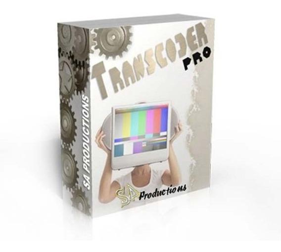 Transcoder Pro® Conversor Pal-m / Só P/ Placas Pinnacle Usb