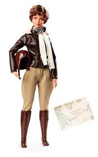 Barbie Inspiring Women Amelia Earhart Doll.