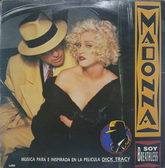 Disco Vinilo Soundtrack Dick Tracy Madonna Lp Nacional
