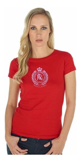 Camiseta Feminina Ralph Lauren 100% Original - Tam: P/s - P4