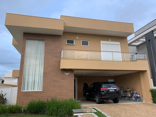 Casa 280m2, 5 Dorms, 4 Suites, 2 Vagas Cobertas E 2 Descobertas, Piscina - Ca00012 - 34889719