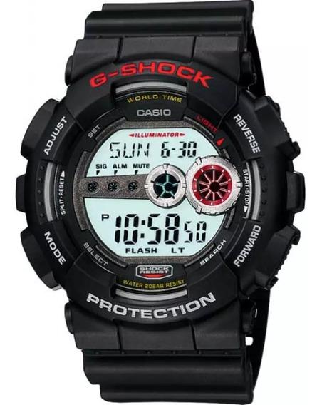 Relógio Casio G-shock Gd-100-1adr Preto