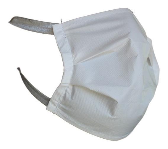 Cubrebocas Impermeable Lavable Tela Plisado (10pack)