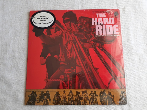 Harley Hatcher The Hard Ride Soundtrack Usa Vinilo Sealed