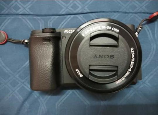 Câmera Alpha Sony