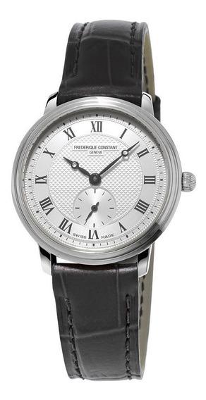 Reloj Frederique Constant Fc-235m1s6 Para Dama Correa De Piel