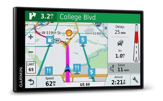 Gps Garmin Drivesmart 71 Ex 7 Polegadas Mapa América Do Sul