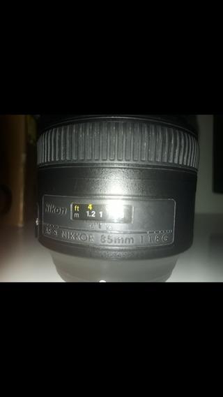 Lente Nikon Af-s 85mm F 1.8g