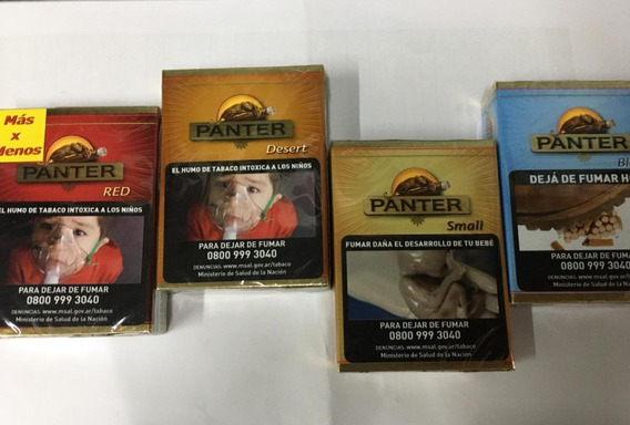 Cigarros // Panter // Small / Blue / Desert / Red / X14
