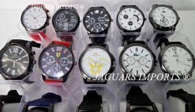 Kit C/ 10 Relógios Masculinos + Caixinhas Atacado Revenda