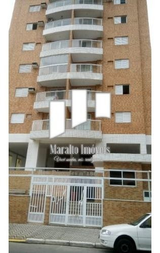 Imagem 1 de 15 de Apartamento 2 Dormitórios Com Sacada Em Praia Grande Sp.