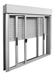 Ventana Aluminio Monoblock 150 X 120