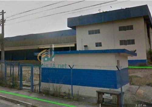 Imagem 1 de 12 de Pavilhão/galpão Salão Comercial Para Alugar Em Barueri/sp - 747