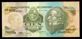 Cédulas Do Uruguai (três) - Flor Estampa - L.313
