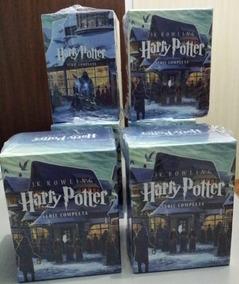 Coleção Box Harry Potter 7 Livros Lacrados #presente +brinde
