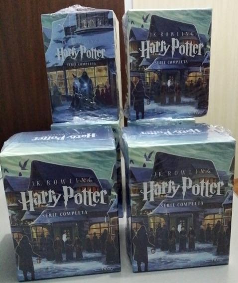 Coleção Box Harry Potter 7 Livros Lacrados