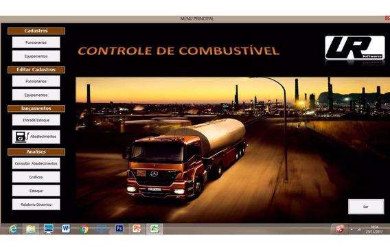 Controle De Combustível, Consumo, Abast. Por Veículos - Vba